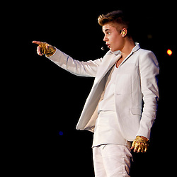 Advocate staff photo by DERICK HINGLE --Justin Beiber performs in concert during his Believe Tour at the New Orleans Arena. Photo shot on Tuesday Jan. 15, 2013, in New Orleans, La..MAGS OUT / INTERNET OUT / ONLINE OUT / NO SALES / TV OUT / FOREIGN OUT / LOUISIANA BUSINESS INC. OUT / GREATER BATON ROUGE BUSINESS REPORT OUT / 225 OUT / 10/12 OUT / IN REGISTER OUT / LBI CUSTOM PUBLICATIONS OUT / MANDATORY CREDIT : THE ADVOCATE/DERICK HINGLE /