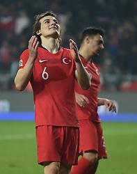 November 17, 2018 - Konya, Türkiye - Turkey's Caglar Soyuncu  during Turkey vs. Sweden UEFA Nations League, League B game at Konya, Turkey, 17th Nov., 2018 (Credit Image: © Hikmet Saatci/Depo Photos via ZUMA Wire)