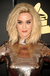 Katy Perry at the 59th GRAMMY Awards held at the Staples Center in Los Angeles, USA on February 12, 2017.