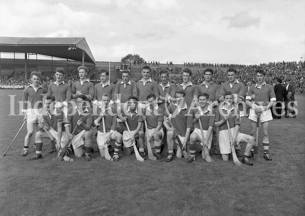 Galway All-Ireland Final Hurling Team at Croke Park. 07/09/1958 (Part of the Independent Ireland Newspapers/NLI Collection)