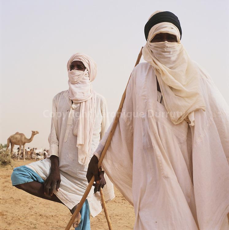 Tuareg nomads, Niger / Nomades touaregs du Niger