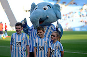 Coventry mascots during the Sky Bet League 1 match between Coventry City and Peterborough United at the Ricoh Arena, Coventry, England on 31 October 2015. Photo by Alan Franklin.