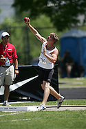 London, Ontario ---06/06/08--- Adam Kovacs of St. Joseph's in Barrie competes in the junior boys pole vault at the 2008 OFSAA Track and Field meet in Hamilton, Ontario..SEAN BURGES