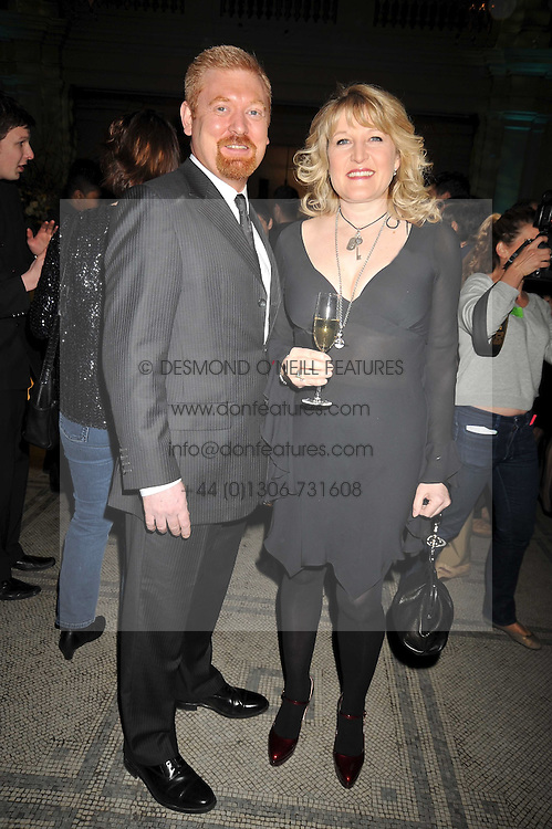 ROGER ELLORY and AMANDA ROSS at the Orion Publishing Group Author Party held at the V&A, London on 18th February 2009.