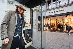 The Kooples store on famous Kurfurstendamm shopping street in Berlin, Germany.