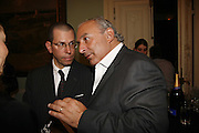 Jonathan Newhouse and Philip Green, Book launch of 'A Much Married Man' by Nicholas Coleridge. English Speaking Union. London. 4 May 2006. ONE TIME USE ONLY - DO NOT ARCHIVE  © Copyright Photograph by Dafydd Jones 66 Stockwell Park Rd. London SW9 0DA Tel 020 7733 0108 www.dafjones.com