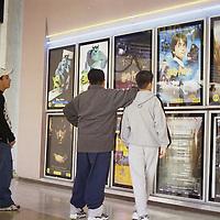 Toluca, Méx.- En el periodo de vacaciones los cines una opción. Agencia MVT / Daniela Bojorquez.