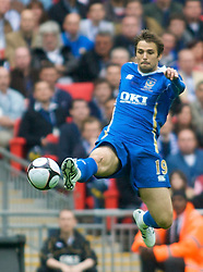 LONDON, ENGLAND - Saturday, May 17, 2008: Portsmouth's Niko Kranjcar in action against Cardiff City during the FA Cup Final at Wembley Stadium. (Photo by Chris Ratcliffe/Propaganda)