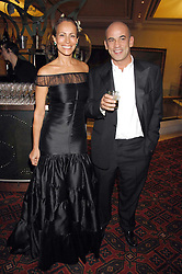 GUY & ANDREA DELLAL at the Feast of Albion a sumptious locally-sourced banquet in aid of The Soil Association held at The Guildhall, City of London on 12th March 2008.<br />