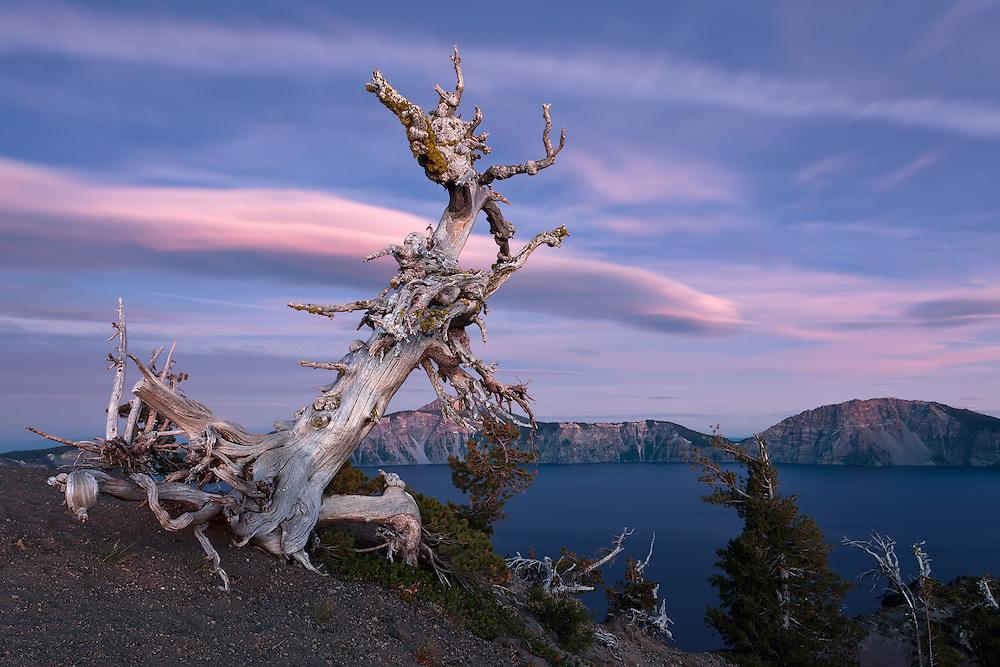 Crater Lake 7-47 PM