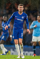December 8, 2018 - London, Greater London, England - Jorginho of Chelsea during the Premier League match between Chelsea and Manchester City at Stamford Bridge, London, England on 8 December 2018. (Credit Image: © AFP7 via ZUMA Wire)