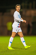 Carli Lloyd (#10) (Sky Blue FC) of the USA during the Women's International Friendly match between Scotland Women and USA at the Simple Digital Arena, Paisley, Scotland on 13 November 2018.