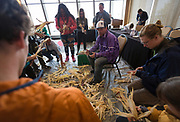 """Dan Cornelius speaks during the discussion """"Indigenous Food in Wisconsin: A Look Ahead"""" during the Cap Times Idea Fest 2018 at the Pyle Center in Madison, Wisconsin, Saturday, Sept. 29, 2018."""