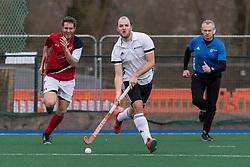 Cambridge City v Southgate - Men's Hockey League East Conference, Wilberforce Road, Cambridge, UK on 25 March 2018. Photo: Simon Parker