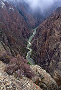 Black Canyon of the Gunnison National Park, clouds, Colorado