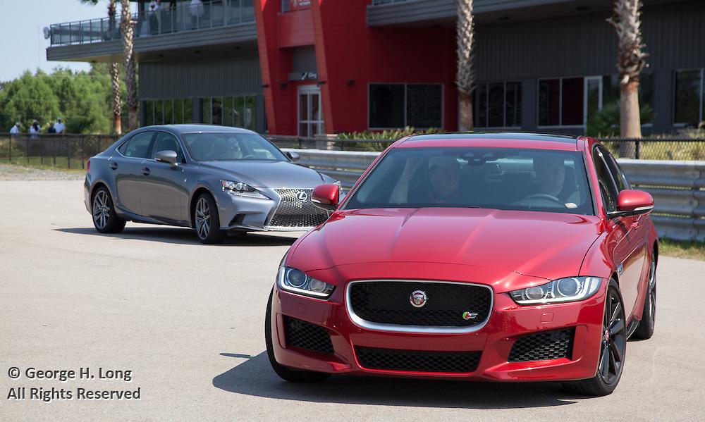 Jaguar at NOLA Motorsports Park in Avondale, Louisiana on August 25, 2015