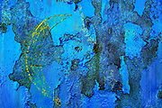 Abstract blue and rust background