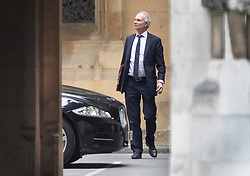 © Licensed to London News Pictures. 07/05/2019. London, UK. Minister for the Cabinet Office David Liddington is seen in Parliament.  High level cross party talks have re-started today in an attempt to reach a compromise over Brexit. Photo credit: Peter Macdiarmid/LNP