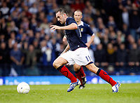 Football<br /> 05/09/2009 SCOTLAND V MACEDONIA: <br /> JAMES MCFADDEN SCORES SCOTLAND'S SECOND GOAL DURING THE WORLD CUP 2010 QUALIFIER AGAINST MACEDONIA AT HAMPDEN PARK.<br /> Credit: Colorsport