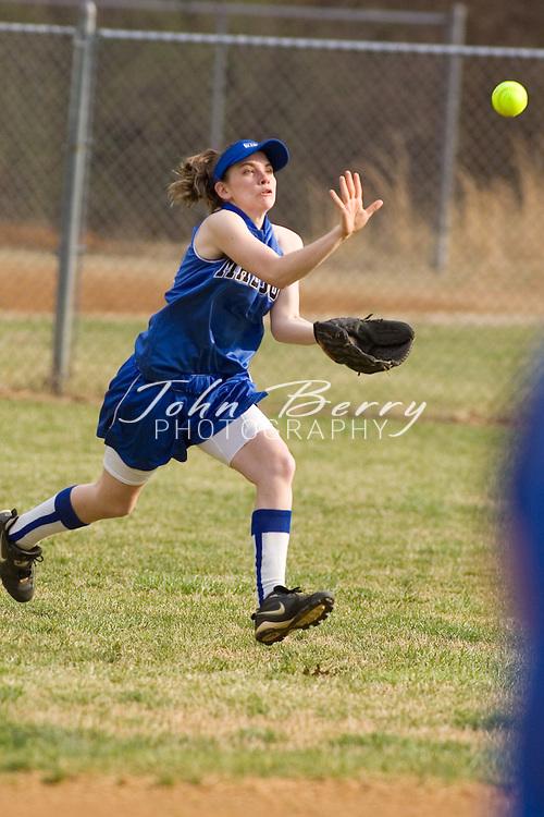 MCHS JV Softball.vs Orange.March 23, 2007