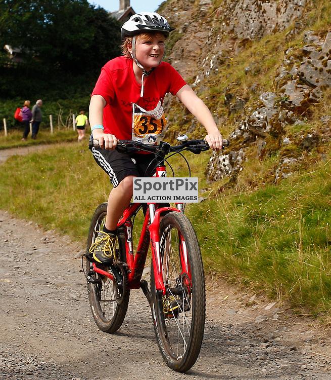CRAGGY ISLAND TRIATHLON..... Daniel Baird competing in Craggy Island Triathlon..(c) STEPHEN LAWSON | SportPix.org.uk