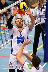 20160109 NED: Volleybal: SV Land Taurus - Abiant Lycurgus, Houten<br />Jay Blankenau of Abiant Lycurgus