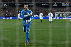 February 28, 2019 - Valencia, Valencia, Spain - Jaume Domenech of Valencia during the Copa del Rey Semi Final match second leg between Valencia CF and Real Betis Balompie at Mestalla Stadium in Valencia, Spain on February 28, 2019. (Credit Image: © Jose Breton/NurPhoto via ZUMA Press)