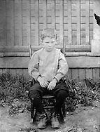 Gordon MacQuarrie, ca. 1908.