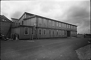 04/06/1964<br /> 06/04/1964<br /> 04 June 1964<br /> Sisk's new offices and premises at Naas Road, Clondalkin, Dublin. Exterior view of the finishing touches being applied to the office building.