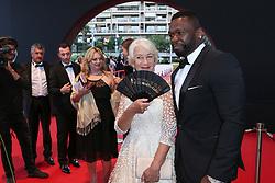 Helen Mirren;Jackson Curtis (50 Cent) attending the closing ceremony of the 57th Monte-Carlo Television Festival in Monaco on June 20, 2017. Photo by ABACAPRESS.COM    597266_010 Monaco Monaco