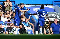 Andreas Christensen of Chelsea replaces Victor Moses of Chelsea - Mandatory by-line: Alex James/JMP - 27/08/2017 - FOOTBALL - Stamford Bridge  - London, England - Chelsea  v Everton  - Premier League