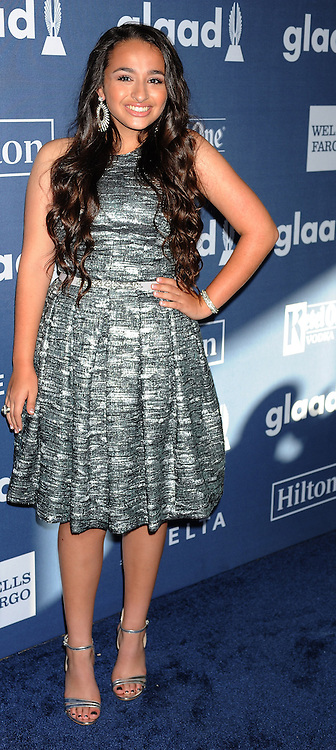 Jazz Jennings, 27th Annual GLAAD Media Awards, at The Beverly Hilton Hotel, April 2, 2016 - Beverly Hills, California. EXPA Pictures © 2016, PhotoCredit: EXPA/ Photoshot/ Celebrity Photo<br /> <br /> *****ATTENTION - for AUT, SLO, CRO, SRB, BIH, MAZ, SUI only*****