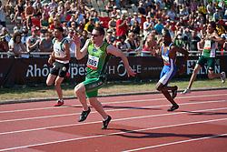 SMYTH Jason, IRL, 200m, T13, 2013 IPC Athletics World Championships, Lyon, France