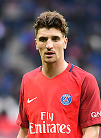 Thomas Meunier of PSG during the Ligue 1 match between Paris Saint Germain (PSG) and SC Bastia at Parc des Princes on May 6, 2017 in Paris, France. (Photo by Dave Winter/Icon Sport)