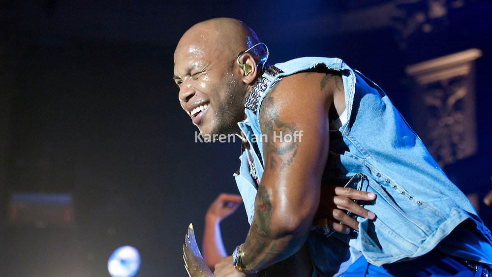 Flo Rida performing at the Newport Music Hall in Columbus, OH on August 29, 2012