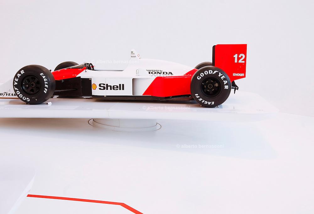 Medena, Casa Museo Enzo Ferrari. Ayrton Senna's car