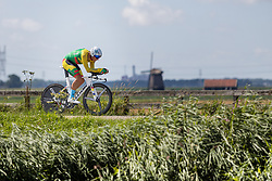 SISKEVICIUS Evaldas from LITHUANIA during Men Elite Time Trial at 2019 UEC European Road Championships, Alkmaar, The Netherlands, 8 August 2019. <br /> <br /> Photo by Thomas van Bracht / PelotonPhotos.com <br /> <br /> All photos usage must carry mandatory copyright credit (Peloton Photos | Thomas van Bracht)