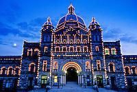 Parliament Buildings, Victoria, Vancouver Island, British Columbia, Canada
