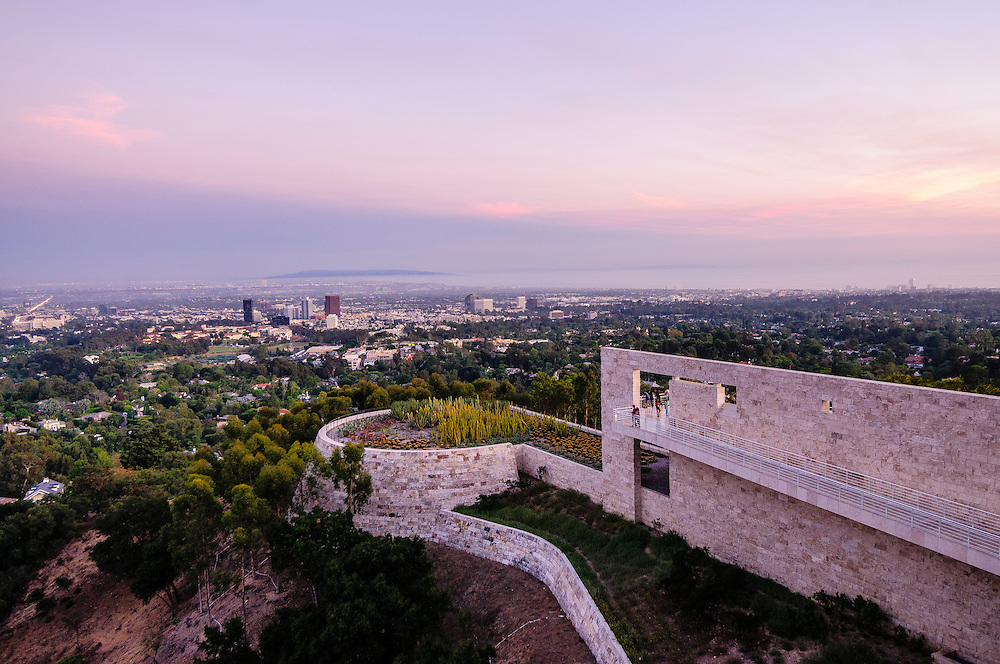 J. Paul Getty Museum at the Getty Center in ,Brentwood, Los Angeles, California, USA, East Pavillon by Richard Meier