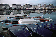 Harbor of Cherbourg, France, on the Atlantic coast.