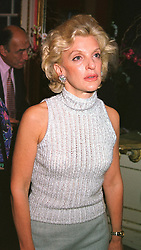 WENDY, COUNTESS OF CALEDON at a party in London on 21st September 2000.OHE 7