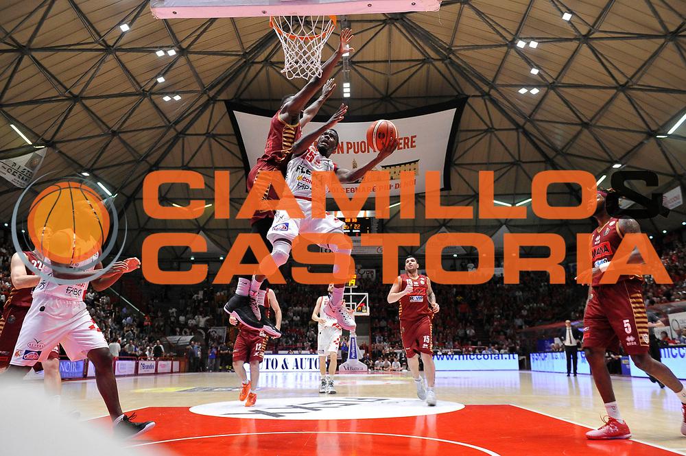 Moore Ronald<br /> UThe Flexx Pistoia vs Umana Reyer Venezia<br /> Lega A  2016/2017 Quarti di finale Gara 3<br /> Milano 17/05/2017<br /> Foto Ciamillo-Castoria<br /> Provvisorio
