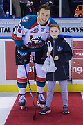 KELOWNA, CANADA - MARCH 07:  First Star of the Game Carsen Twarynski #18 of the Kelowna Rockets at the Kelowna Rockets game on March 07, 2018 at Prospera Place in Kelowna, British Columbia, Canada.  (Photo By Cindy Rogers/Nyasa Photography,  *** Local Caption ***
