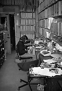 Librarian Camera Press, London, UK, 1980s.