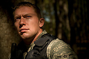 Airman Joshua Long, 437th Security Forces, poses for a portrait at Charleston Charleston Air Force Base, S.C., on Oct. 30, 2008.
