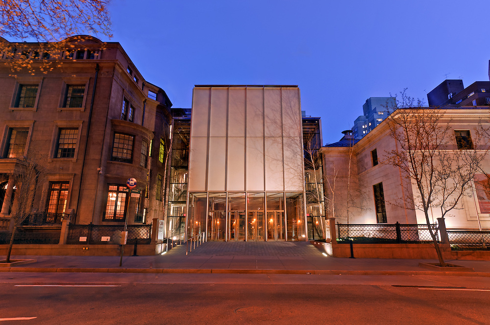 The Morgan Library & Museum, designed by architect Renzo Piano, Manhattan, New York City, New York, USA