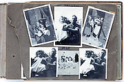 happy family moments photo album page 1948 England