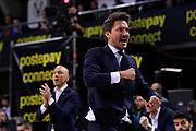 Gianmarco Pozzecco of Banco di Sardegna Sassari   <br /> Umana Reyer Venezia - Banco di Sardegna Sassari<br /> Postemobile Final Eight 2019 Zurich Connect<br /> Basket Serie A LBA 2018/2019<br /> FIRENZE, ITALY - 15 February 2019<br /> Foto Mattia Ozbot / Ciamillo-Castoria