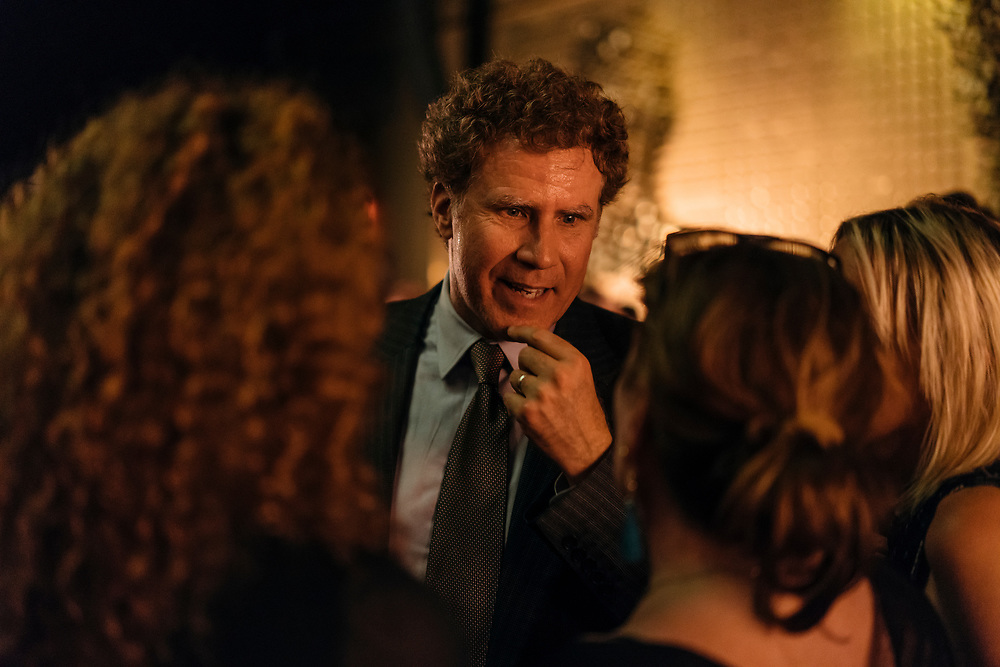 Will Ferrell at the Full Frontal with Samantha Bee's Not the White House Correspondents' Dinner afterparty.