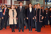 MADRID, SPAIN, 2015, DECEMBER 20 <br /> <br /> Queen Letizia presiding Fitur-Tourism International Fair, in Madrid<br /> ©Exclusivepix Media